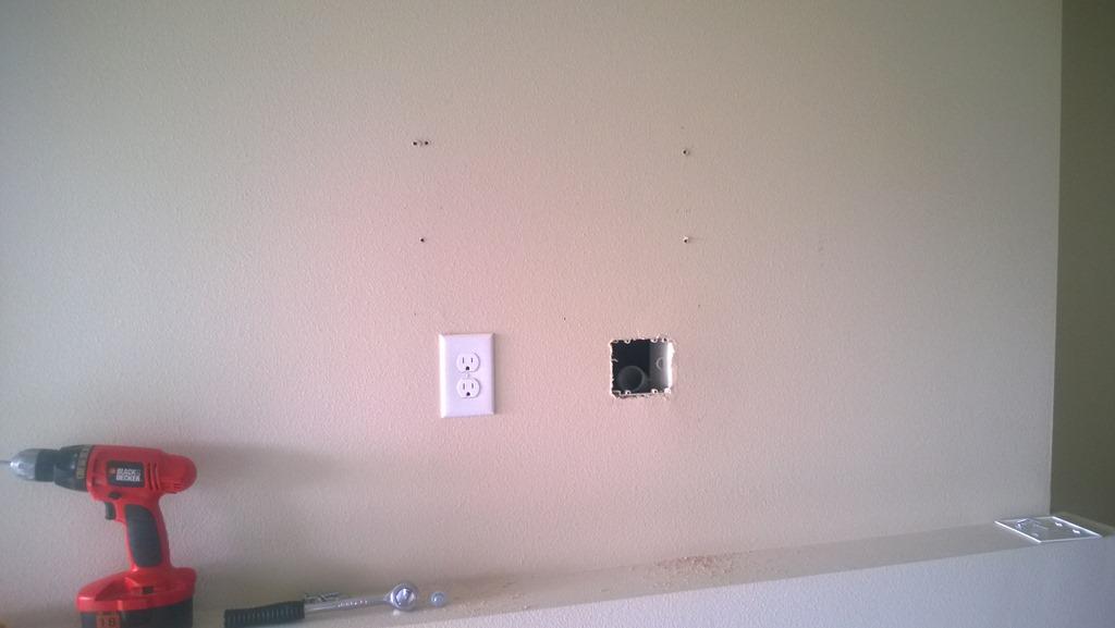 Projectje TV aan de muur – Familie Hoekstra