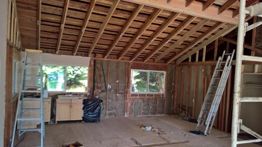 De grote verbouwing: verwijderen dragende muur tussen keuken en